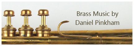 Brass music by Daniel Pinkham
